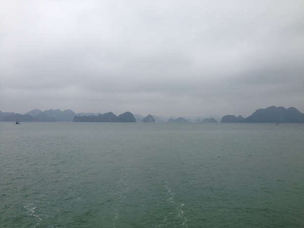 Halong bay descending dragon