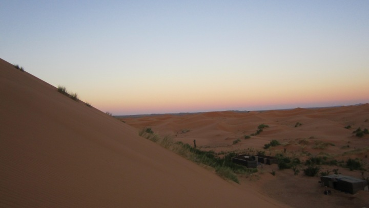 Sleeping Under The Sahara Desert Night Sky