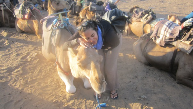 camel riding morocco