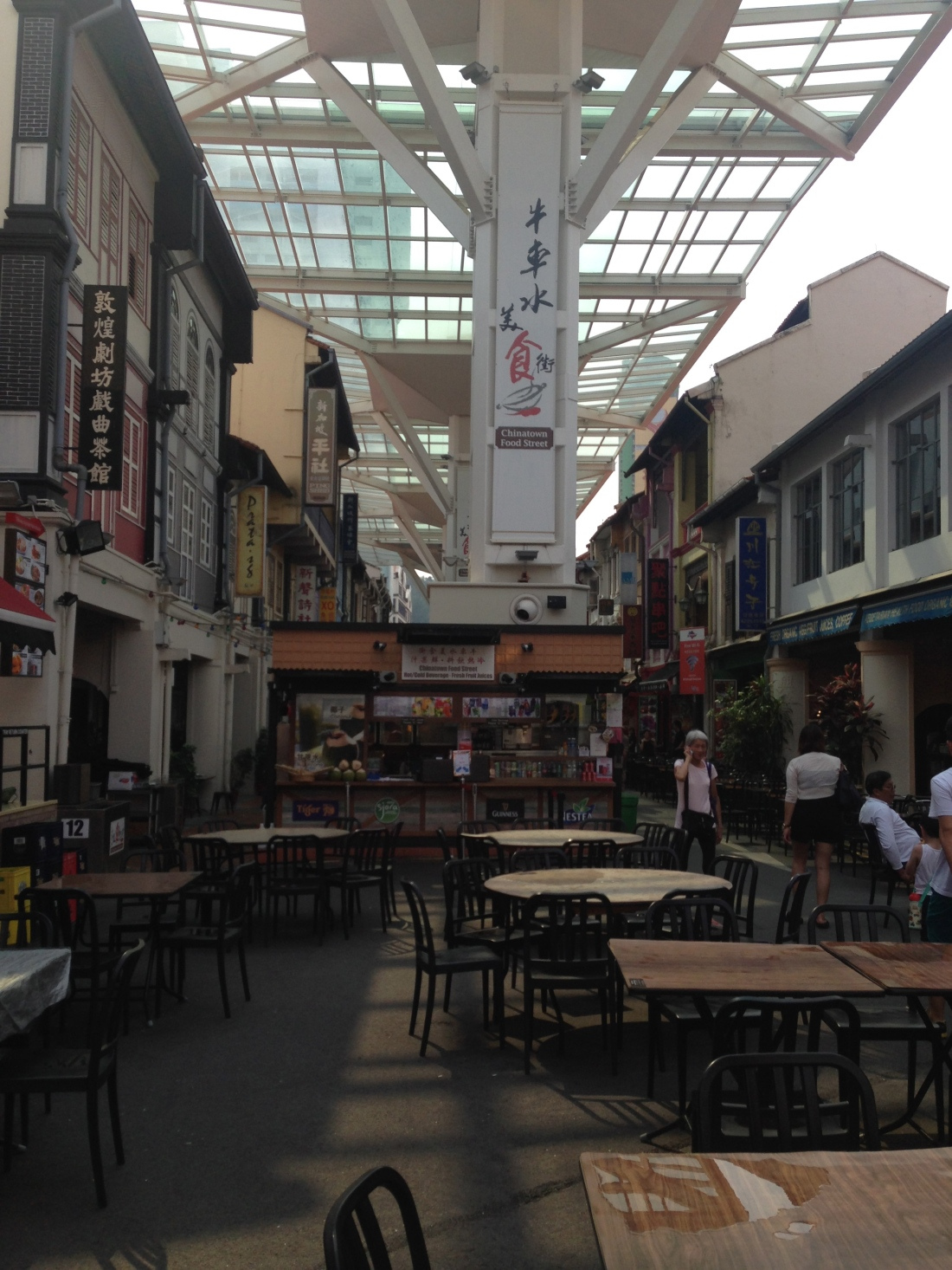 China town food market