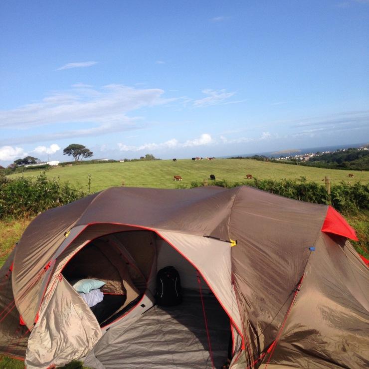 Camping Wales