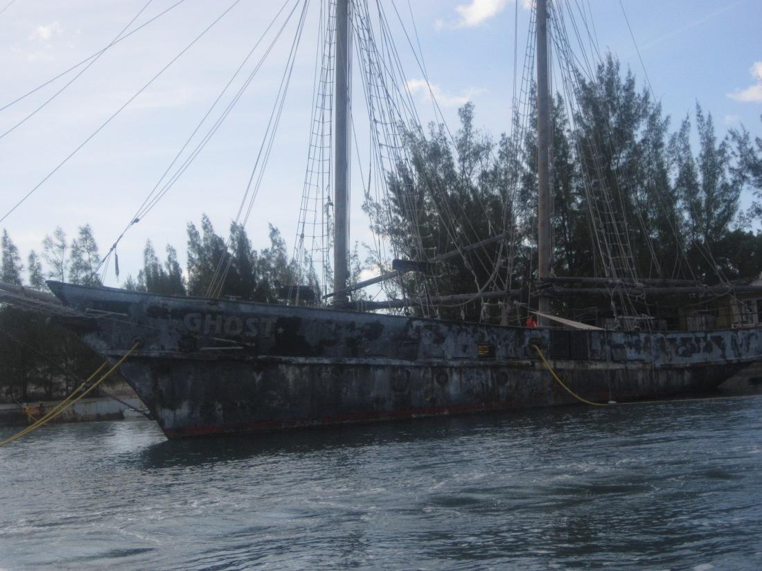 Ghost ship Bahamas