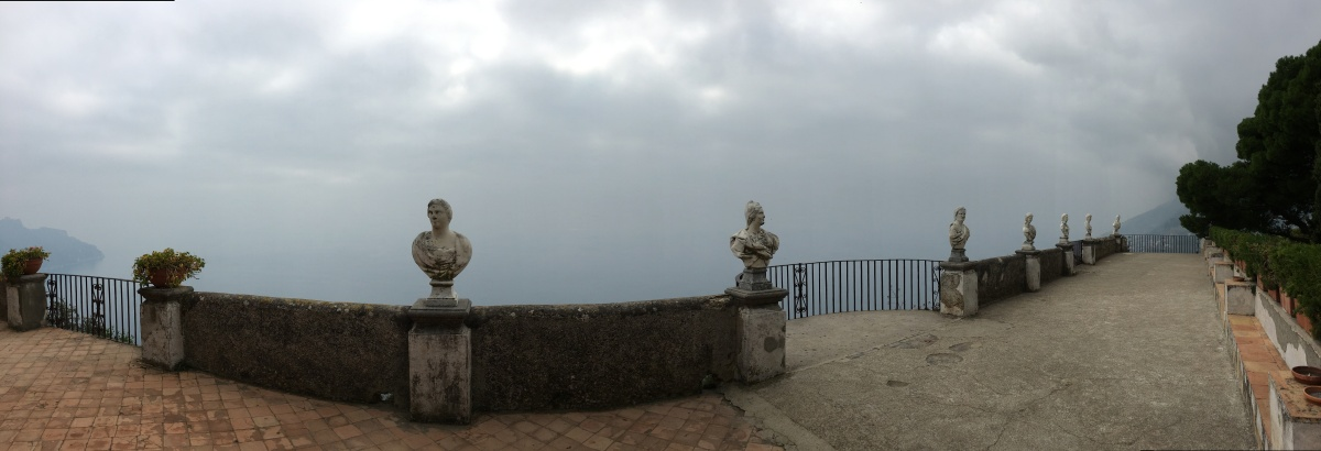 Ravello, Villa Cimbrone – In the clouds with the Romans