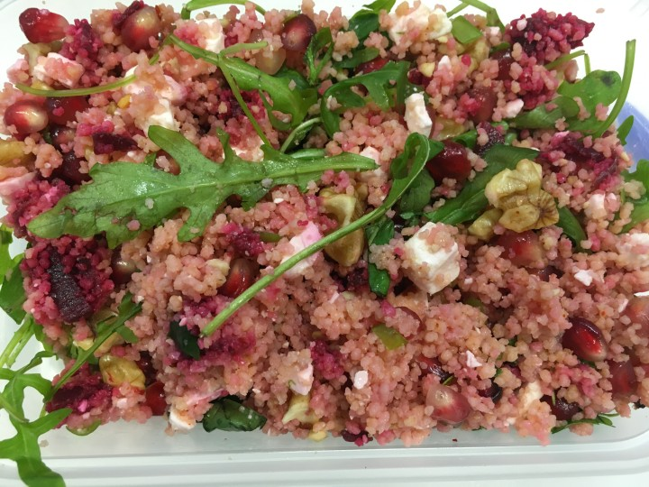 Festive Couscous Salad recipe