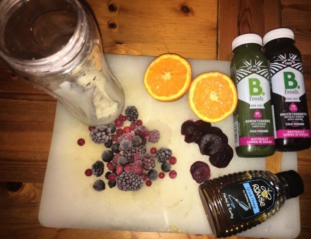 beetroot berry smoothie recipe
