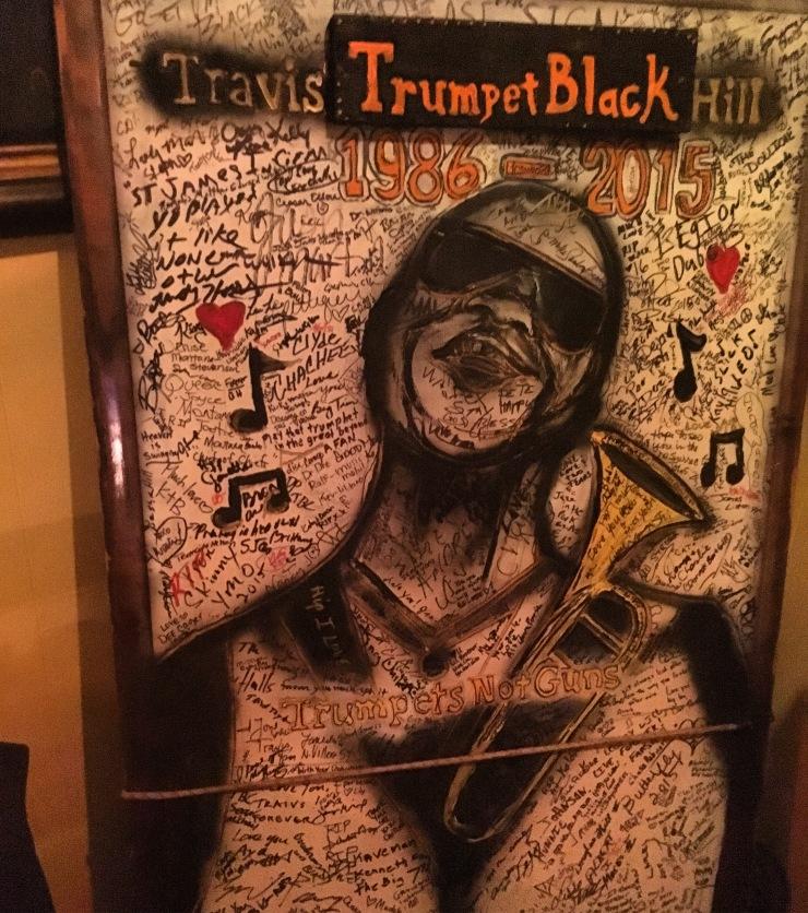 trumpet black