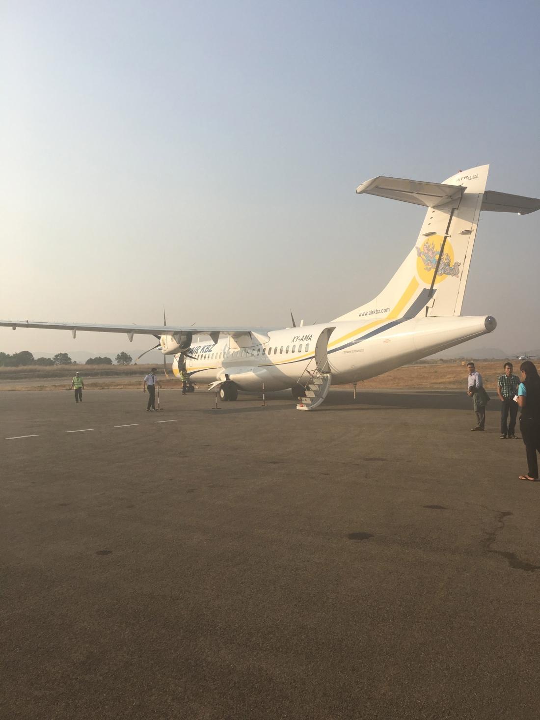 internal flights myanmar