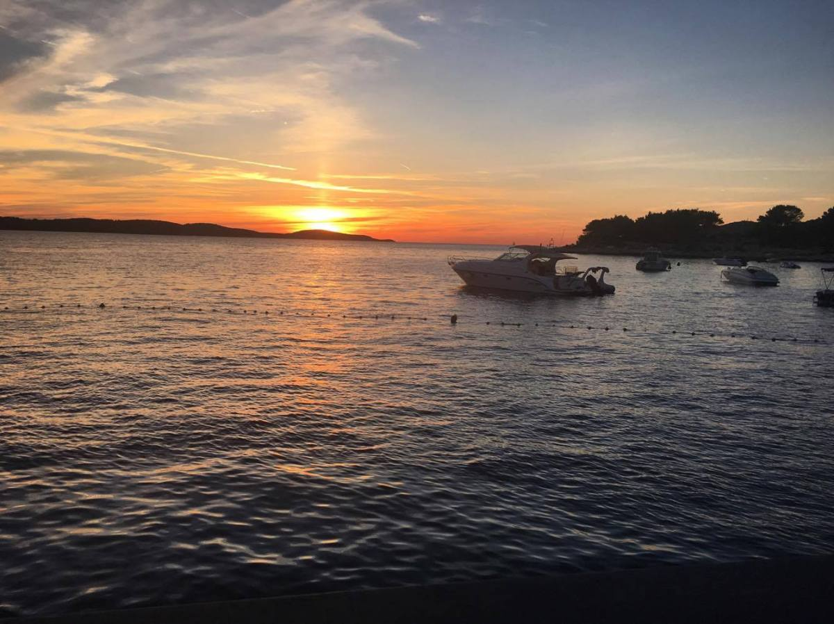 sunset hvar