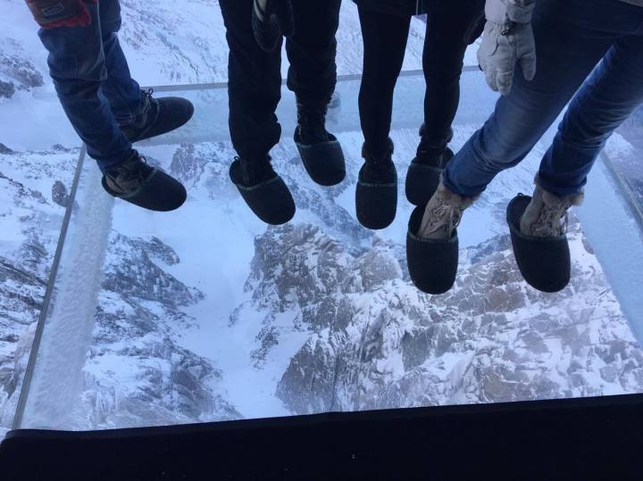 aiguille du midi glass box