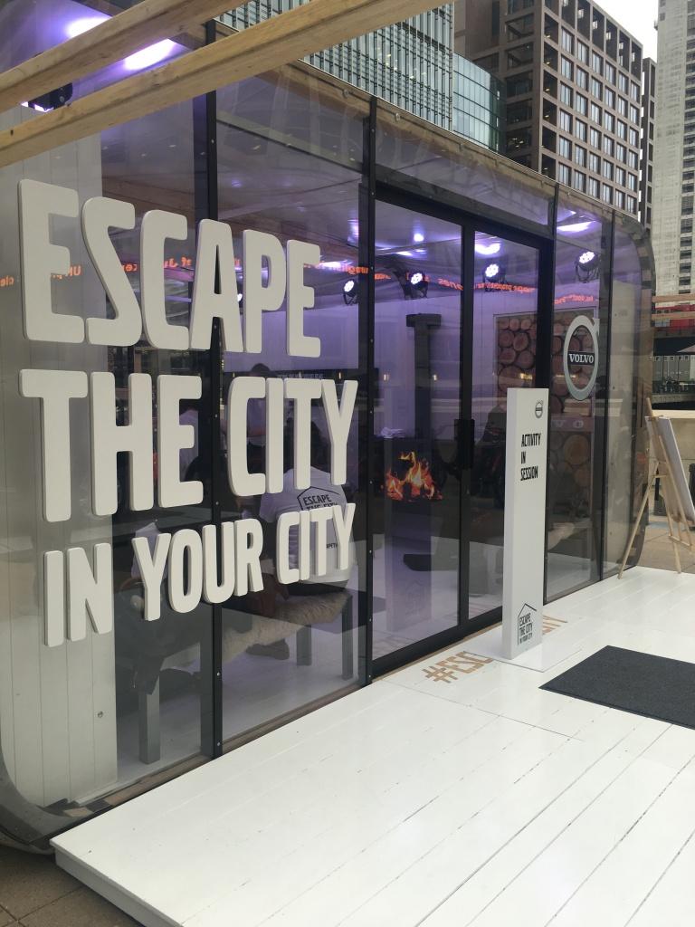 volvo escape the city