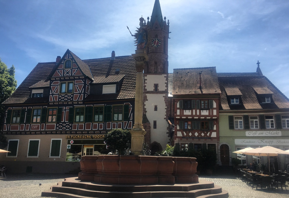 Ladenburg, the Roman City of the Godfather of Cars