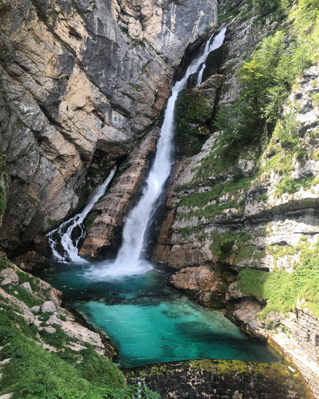 savica waterfall slovenia