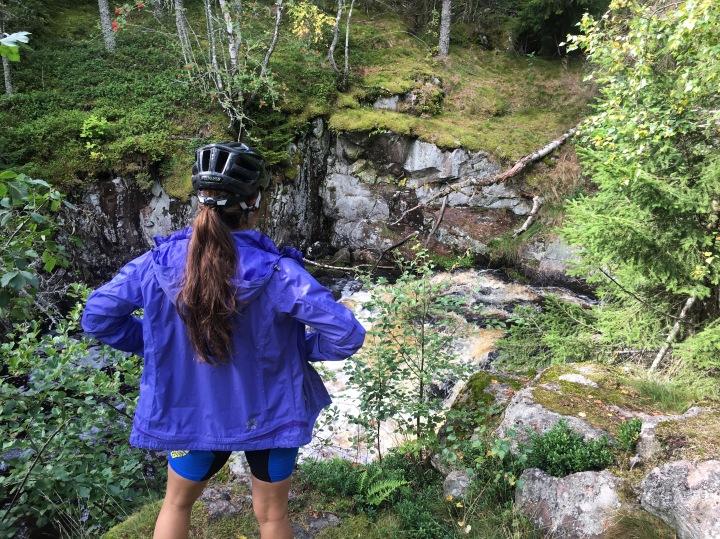 mountain bikeing in Sweden