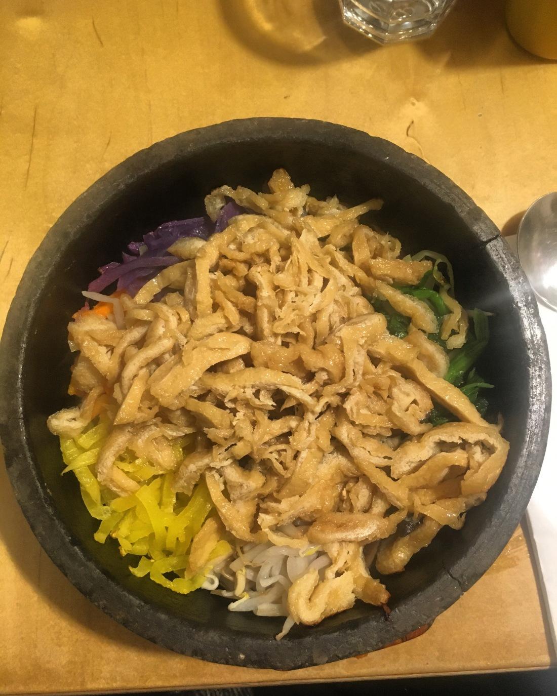 vegan korean food